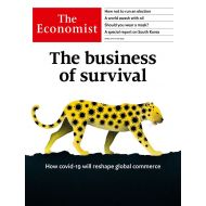The Economist: The business of survival - No.15 - 11th Apr 20