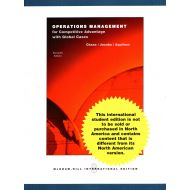 Operations Management for Competitive Advantage with Global Cases